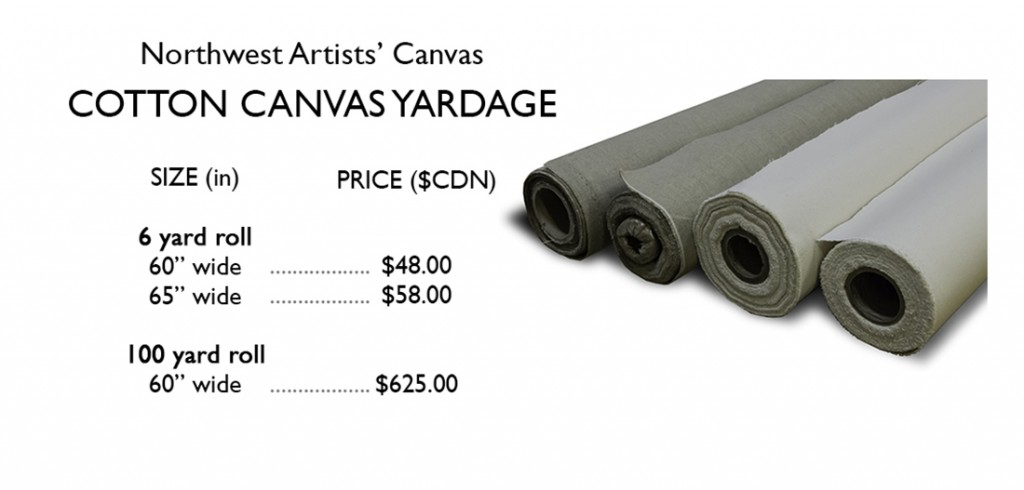 cotton yardage price list
